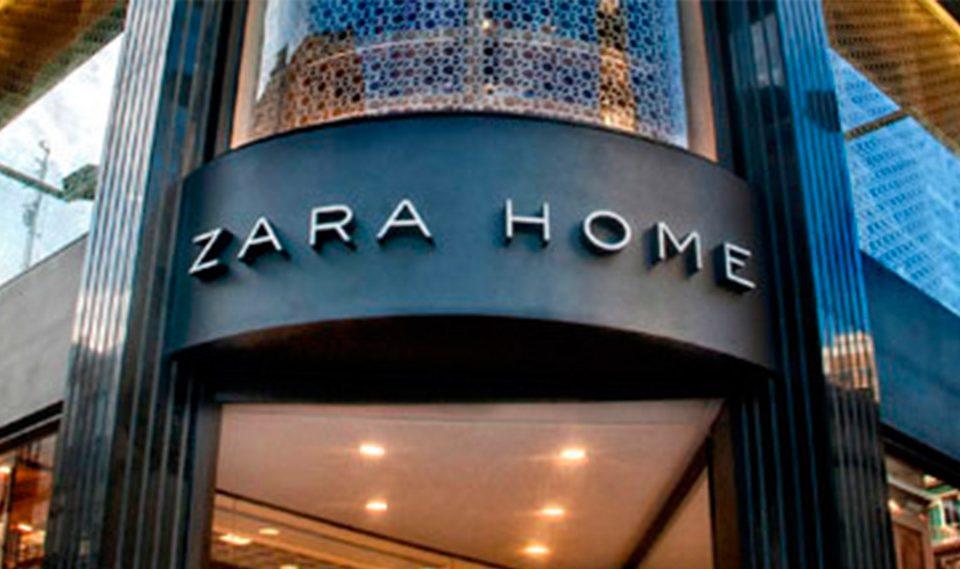 Rotulo luminoso Led para Zara Home en A Coruña