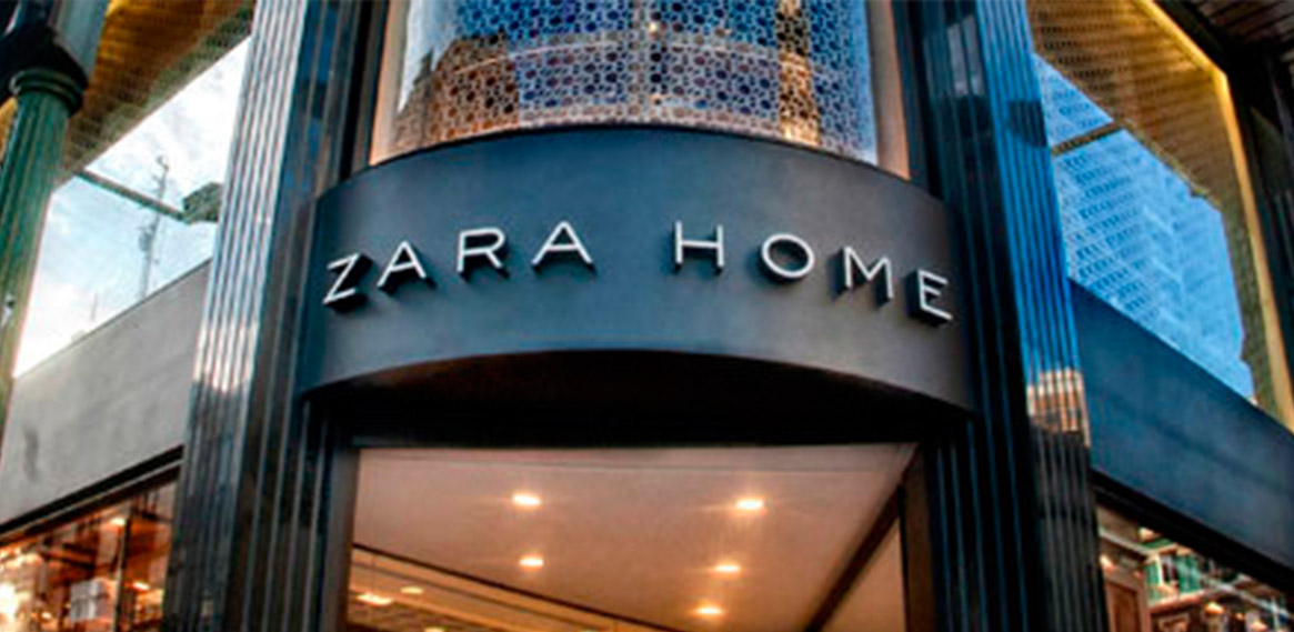 Rotulo luminoso Led para Zara Home en A Coruña